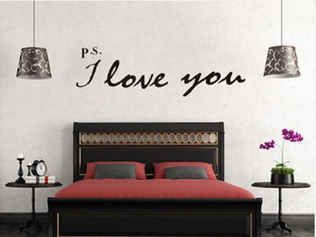 P.S.: I love you (1) - 18x65cm