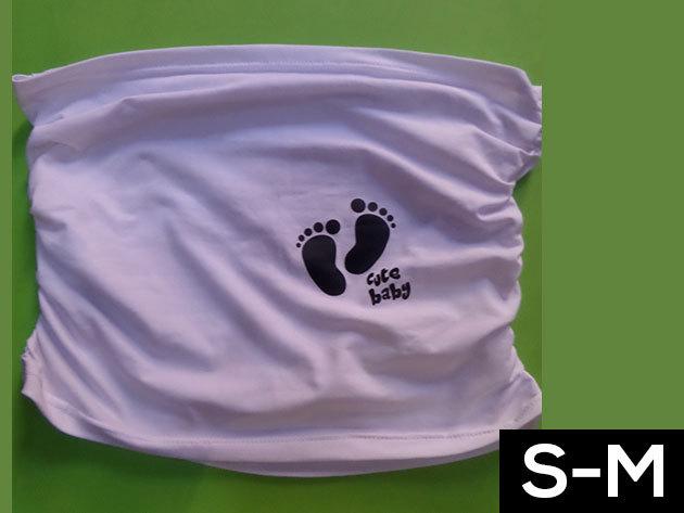 Kismama bandázs - fehér (S-M méret)