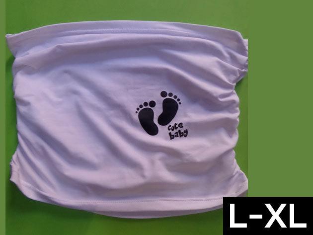 Kismama bandázs - fehér (L-XL méret)