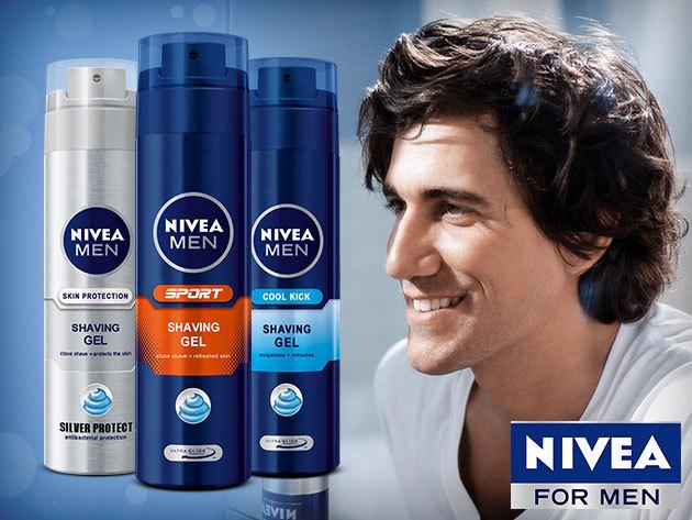 Nivea borotvahab és gél  (200 ml) - a tökéletes simaságért és a könnyed borotválkozásért!