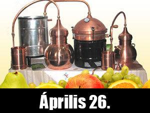 Tanulj meg minőségi pálinkát főzni! Gyorstalpaló, gyakorlati és elméleti oktatás! Április 26.