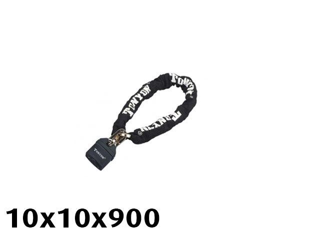 TONYON láncos zár - 10x10x900 721D