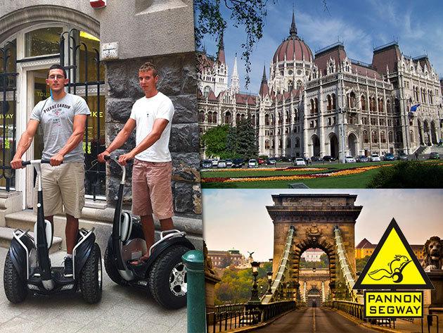 1,5 órás Segway túra Budapest belvárosában 2 fő részére - a főváros szerelmeseinek