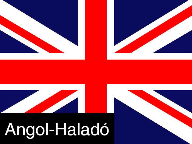 Haladó ANGOL - 30 órás nyelvtanfolyam