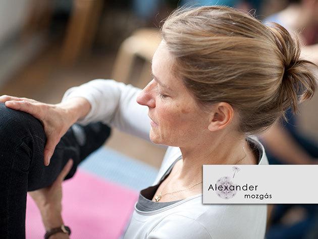 Alexander-technika: a helyes testhasználat elsajátítása a jobb teljesítményért és az egészségért!