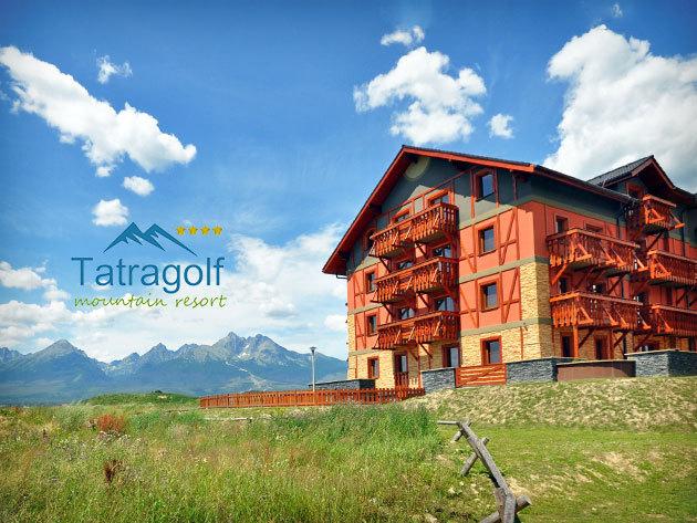 Tavasz a Tátrában! 3 nap/2 éj Szlovákiában, a Tatragolf Mountain Resortban****, kedvezményes Aquapark belépőkkel