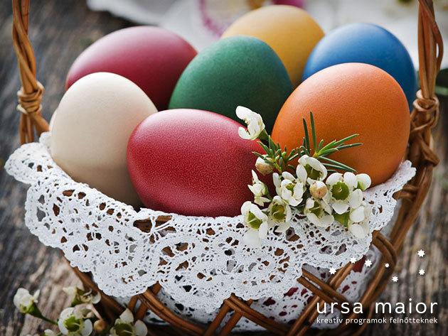 Hagyományos húsvéti tojásfestő tanfolyam kicsiknek és nagyoknak, az I. kerületben
