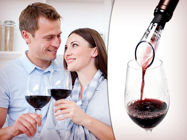 Vörösbor dekantáló - levegőztető! Élvezd a minőségi borok valódi ízét!
