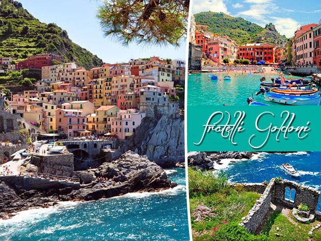 Buszos csillagtúra az olasz riviérán, a Cinque Terre legszebb falvaiban: félpanziós ellátás + városnézések, programok  idegenvezetéssel