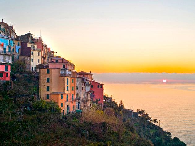 RÉSZLETFIZETÉS! Körutazás a Cinque Terre legszebb falvaiban, a Ligúr partokon - 1 fő részére, 7nap/6 éj (2014.június 15 - 21)