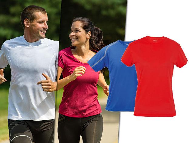 Női és férfi technikai pólók sportoláshoz - jól szellőző, gyorsan száradó anyag