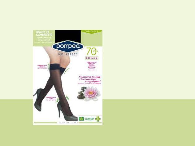 Pompea kompressziós gyógyászati női térdharisnya - 35-41 lábméretre