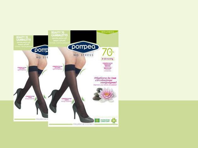 Doupack: Pompea kompressziós gyógyászati női térdharisnya - 35-41 lábméretre