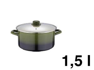 Lábas ZOM, 1,5 l, Olive line - BL-1070