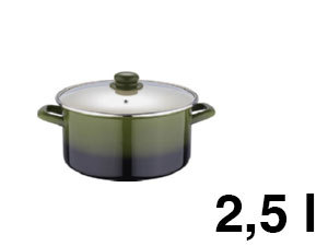 Lábas ZOM, 2,5 l, Olive line - BL-1071