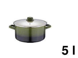 Lábas ZOM, 5,0 l, Olive line - BL-1073