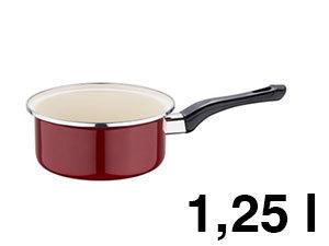 Nyeles edény ZOM, 1,25 l, Burgundy line - BL-1213
