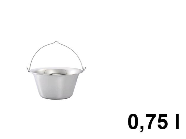 Mini bogrács 0,75 l-es (KH-1242)