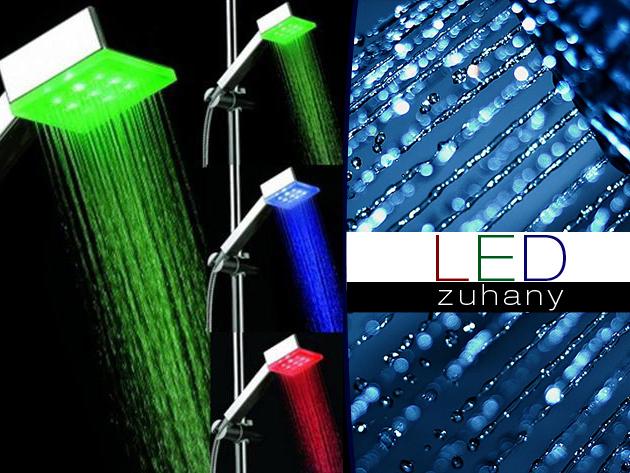 Színváltós LED zuhanyfej - teremts vidám hangulatot fürdőszobádba