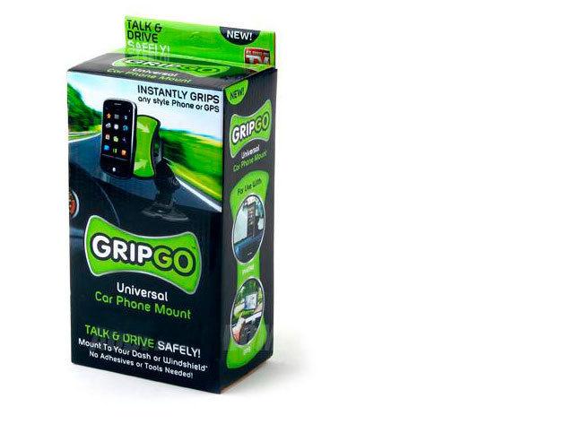 GripGo 360 fokban forgatható univerzális autós telefontartó