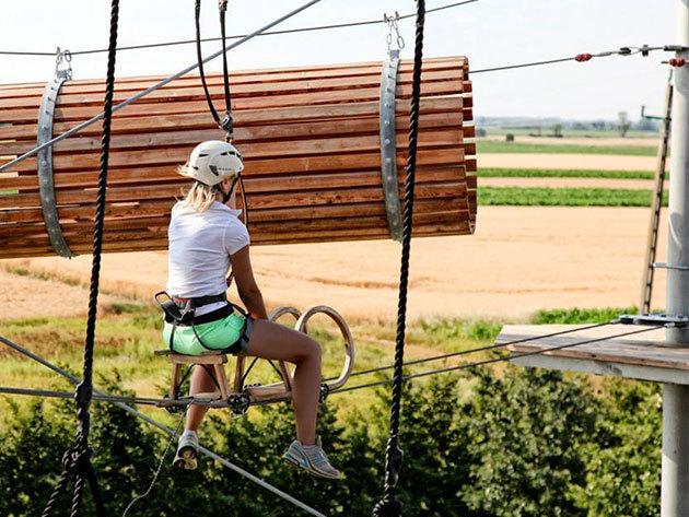 Kristály Torony kalandpark napi belépő - 1 felnőtt