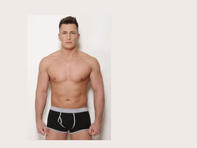 Calvin Klein boxer (fekete-szürke)