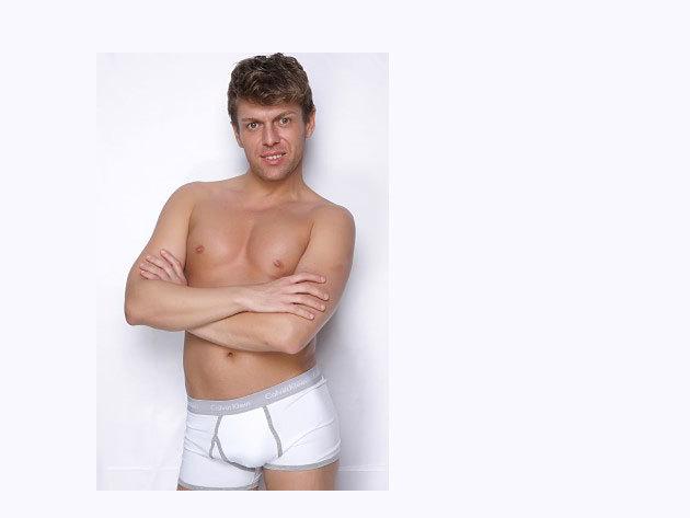 Calvin Klein boxer (fehér-szürke)