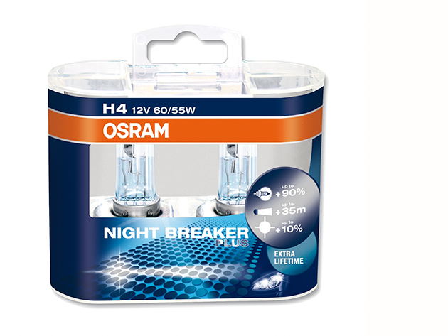 Osram night breaker plus H4 (2 db izzó)