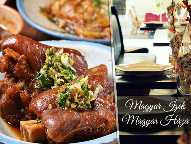 Ínycsiklandozó húsvéti ebéd vagy vacsora a Magyar Ízek Magyar Házában