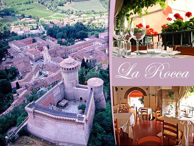 """Vakáció Észak-Olaszországban: 5 nap/4 éj szállás ellátással 2 fő részére, Albergo Ristorante """"La Rocca"""" - Brisighella"""