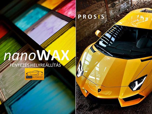 Tavaszi autó nagytakarítás - Prémium Plusz külső-belső komplett tisztítás + nanoWAX