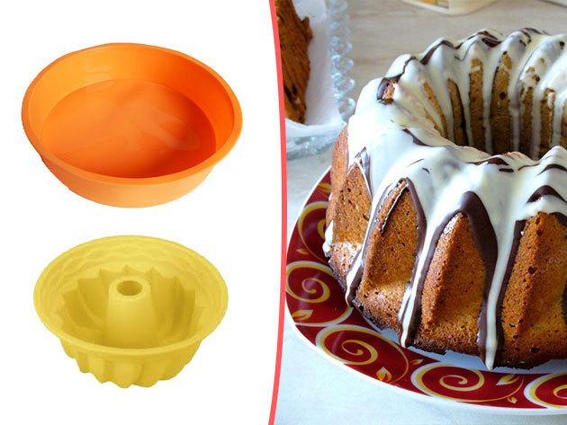 Szilikon sütőformák és praktikus kiegészítők az ünnepi készülődéshez - 15 darabos szett