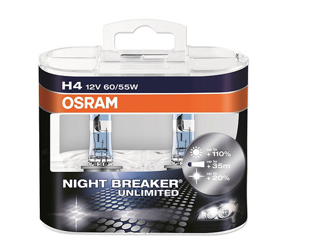 Osram night breaker UNLIMITED H4 (2 db izzó)