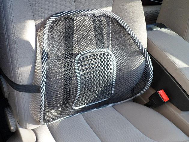 Deréktámasz autóülésbe és irodai székhez