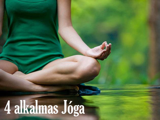 4 alkalmas jóga bérlet