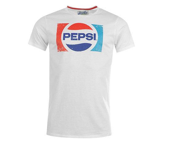 Pepsi férfi póló - fehér