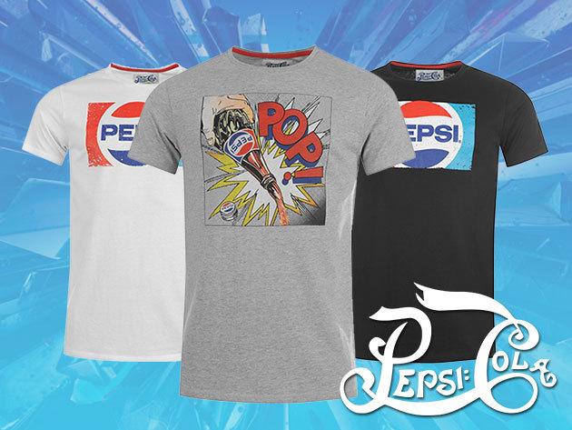 Pepsi férfi pólók 100% pamutból - a laza stílus és a minőség találkozása!