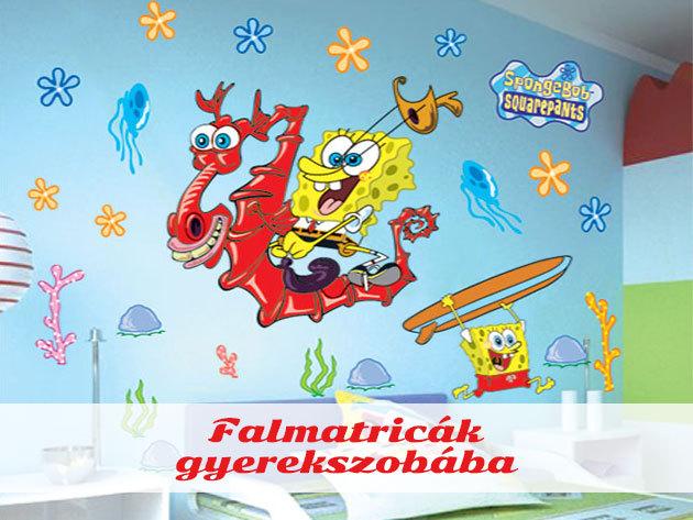 Falmatricák gyerekszobába: Micimackó és barátai, Hercegnők, Verdák, Mickey egér, Minnie egér, Spongyabob, és a többiek....
