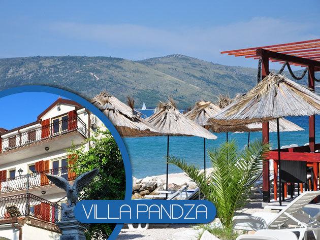 Horvátországi nyaralás Trogir közelében! Villa Pandza apartman-ház, 7 nap szállás, 2 vagy 4 fő részére - előleg fizetési lehetőség