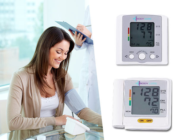 Body Care automata vérnyomásmérők - csuklóra helyezhető, memóriával rendelkező digitális kijelzőjű készülékek
