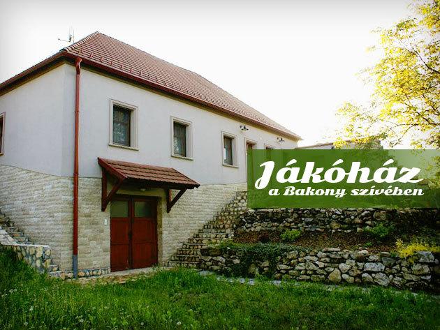 JákóHáz - Pihenj a Bakony mélyén családoddal, vagy egy nagy baráti társasággal! Szállás 3.500 Ft/fő/éj-től