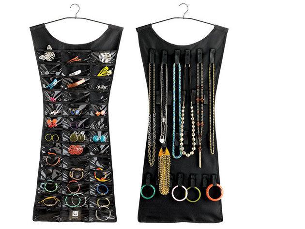 Ékszertartó ruha (Fekete) - AZONNAL ÁTVEHETŐ