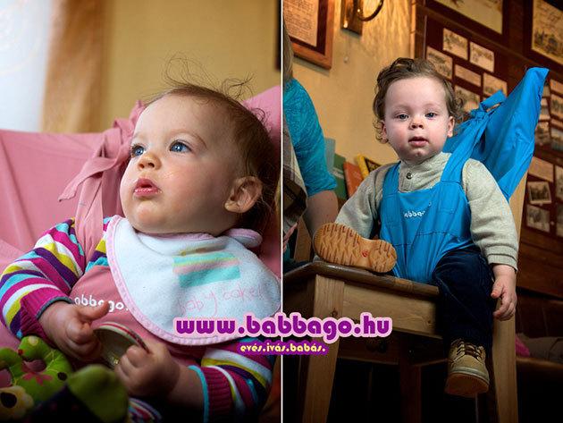 Gondot okoz utazás közben a gyermek etetése? Nálunk van a megoldás: a BABBAGO székre tehető textil etetőszék!