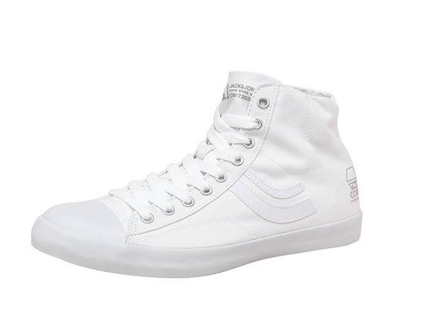 Jack & Jones férfi vászon cipő - fehér