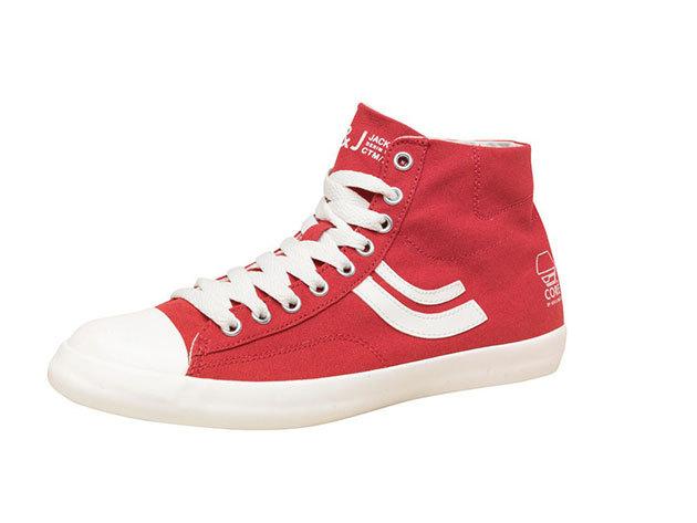 Jack & Jones férfi vászon cipő - piros