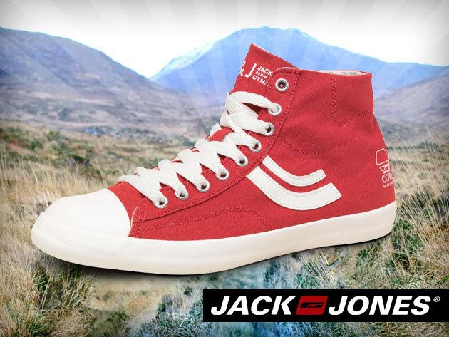 Jack & Jones férfi vászon cipő 4 színben - légy stílusos, kelts jó benyomást öltözékeddel!