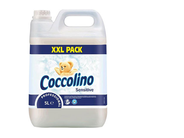 5 l Coccolino White - Öblítő koncentrátum (690 Ft/l)