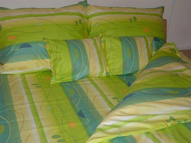 Zöld ágyneműhuzat garnitúra