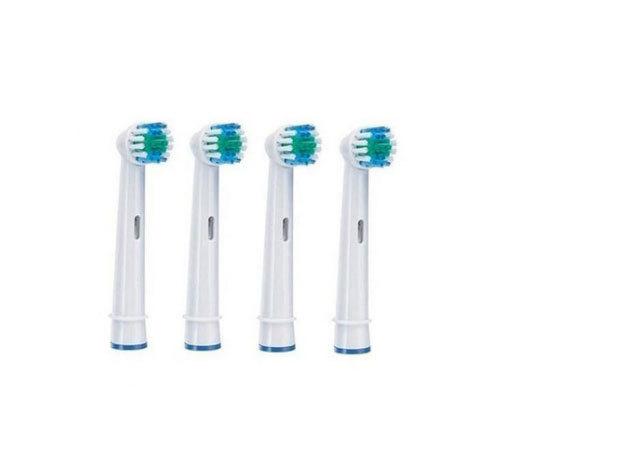 4 db Oral-B és Braun elektromos fogkefékkel kompatibilis fej