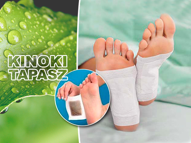 Méregtelenítsd szervezetedet és erősítsd immunrendszeredet a Kinoki tapaszokkal, alvás közben!